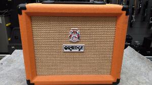 Amplificateur de guitare 20 watts Orange Crush 20LDX 139.95$!