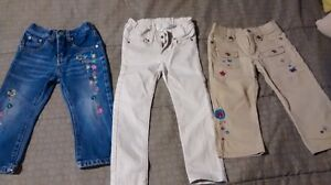 Girl pants 2-3T and legging 3T