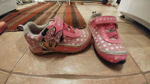 Minnie Mouse running shoes (size 9)