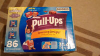 Huggies Pull-Ups Training Pants with Learning Designs size 3-4