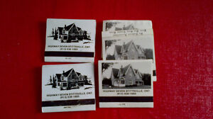 Matchbook Covers-Stittsville, Ontario