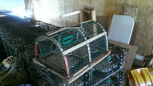 55-60 Wire Over Wood Lobster Traps