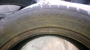 "16"" Studded Winter Tires (4)"