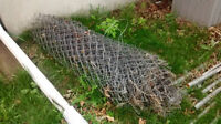 38 Feet Chain Link Fence Including Gate