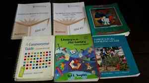 Textbooks for Education students