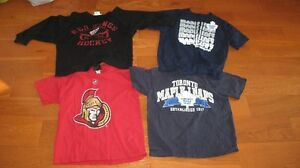 Youth small kids hockey team shirts