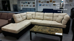 Sectional Sofa now on Sale available in Beige Finish and Brown