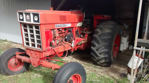 966 INTERNATIONAL TRACTOR PULLING BUILD