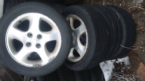 Mazda  Protege rims and tires