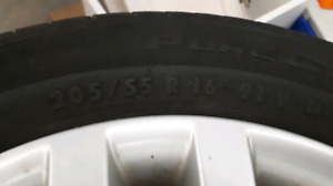 Tires 205/55/16 Continental