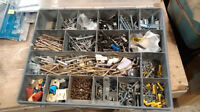 Assorted box of fasteners