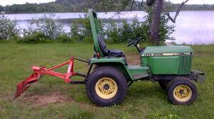 Mid Size Diesel John Deere Tractor