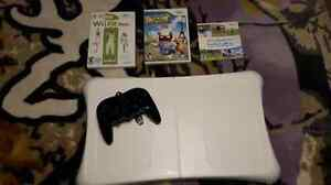 Wii fit, controller and games