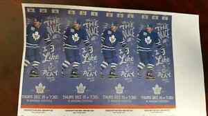 4 tickets to leafs vs coyotes dec 15 Kitchener / Waterloo Kitchener Area image 1