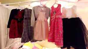 5 girls dresses size 3T lot