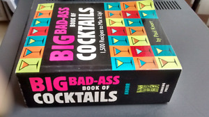 NEW - BiG Bad-A _ _ Book of Cocktails
