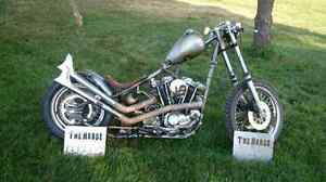 81 sportster chopper