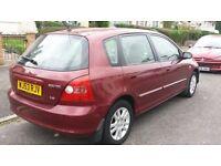 2004 Honda Civic 1.6 AUTOMATIC *Fully loaded* 75.000 Miles. Not 206 307 Fiesta Corsa Astra Yaris