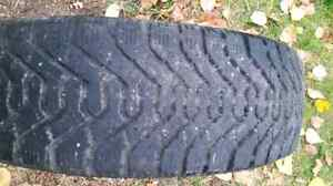 Goodyear Nordic winter tire