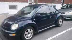 NEW BEETLE 2001 man/cuir/air/pas de rep a faire