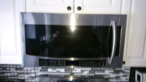 Samsung Over The Range Microwave - Stainless
