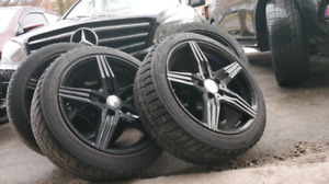 18 Inch Mercedes Benz Rims and tires