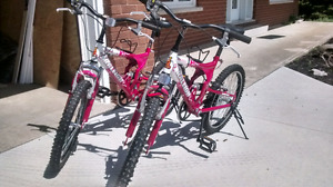 (2) Girls Raleigh Bicycles