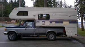 camper with truck optional