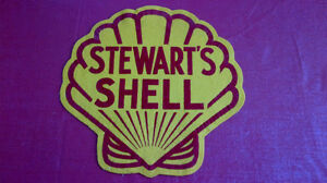 Classic Shell Oil Emblem-Very Rare Kitchener / Waterloo Kitchener Area image 1