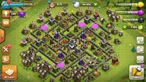 Clash of clans Th 9