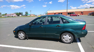 Green Ford Focus for sale