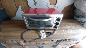 KitchedAid Coubtertop Oven - Red