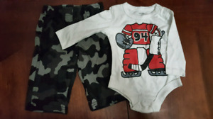 Boys Clothes 6 Months, 15 items