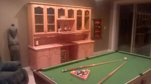 Solid Oak Hutch For Sale