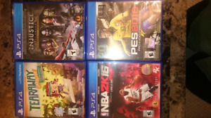 PS4 Games for Sale - $5 Each!