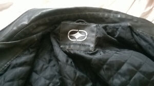 Mens Dark Brown Leather JAcket From South Africa Prince George British Columbia image 2