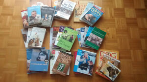 26 Dog Behavior/Training Books & 5 DVD'S