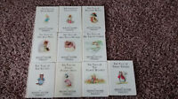 10 of The Original Peter Rabbit Books by Beatrix Potter