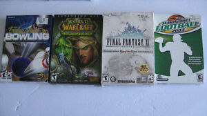 16 Older PC Games with boxes, some new, $10 for all