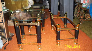 Coffee Table and Lamp Tables