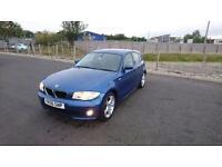 """BMW 1 SERIES 1.6 116i M SPORT 5 DOOR 2006 """"56"""" REG 70,000 MILES"""
