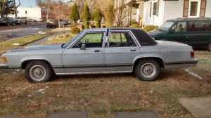 1991 Mercury Grand Marquis LS Light Blue