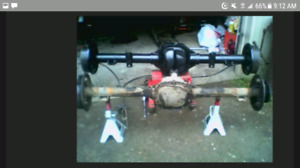 Ford 8.8 rear axle with sway bar and 4.11 gears