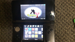 3ds,charger,and three games