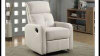 Chaise inclinable pivotante et berçante à partir de 250$