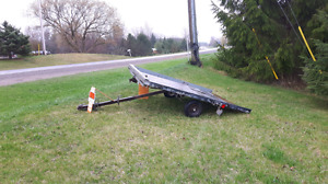 Snowmobile/ fourwheeler trailer
