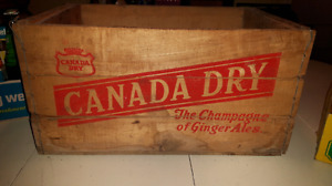 Vintage cola crate with bottles