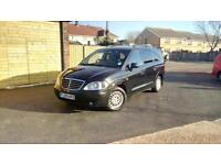 59!Ssangyong Rodius 2.7TD 270 ES. 7 SEATER. Full leather.