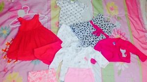 Lot of outfits 3-6 months