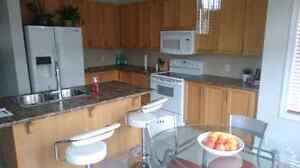 Short term rentals partially furnished in Kanata/utilities incl